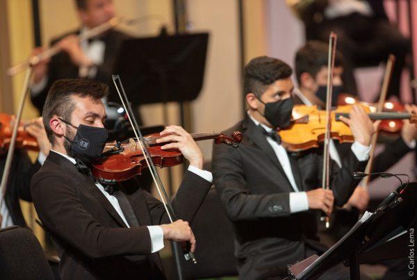 Orquesta Sinfónica de Bogotá violines