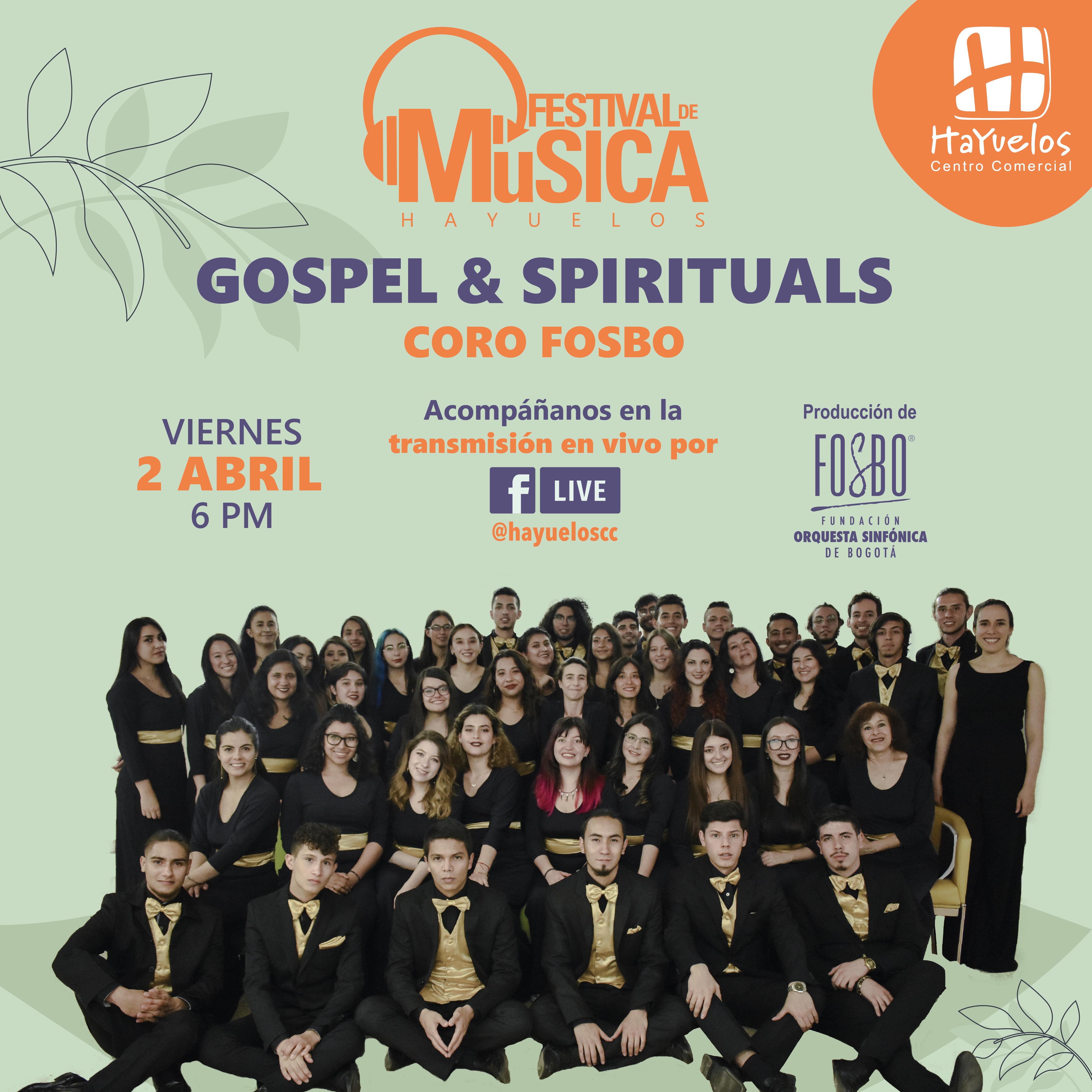 Coro Fosbo Festival de Música Hayuelos Góspel