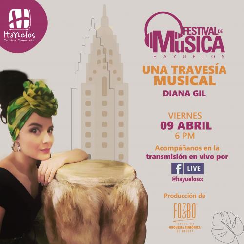Diana Gil Festival de Música Hayuelos Fosbo