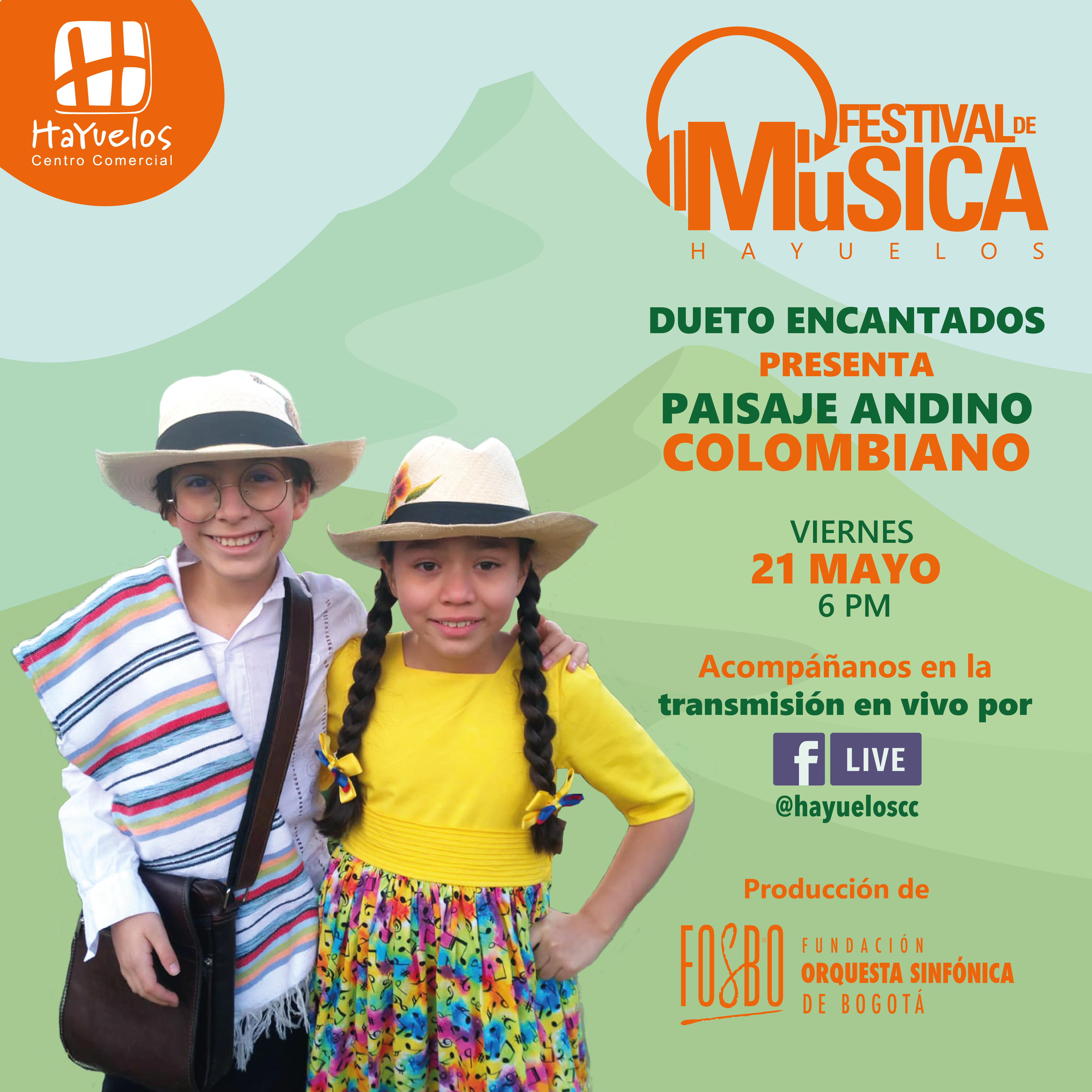 Dueto Encantados Festival de Música Hayuelos Fosbo