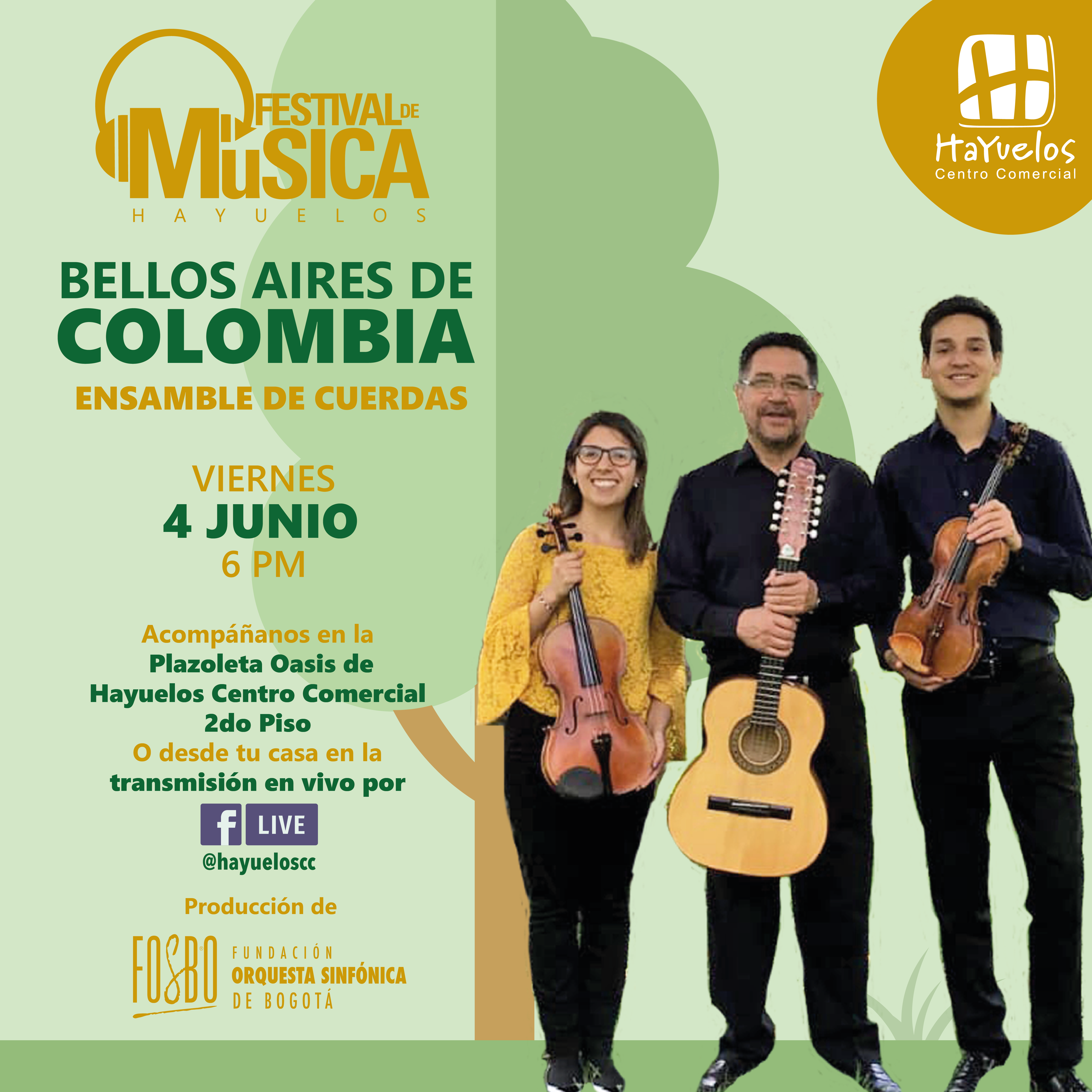 Entre cuerdas Festival de música Hayuelos Fosbo