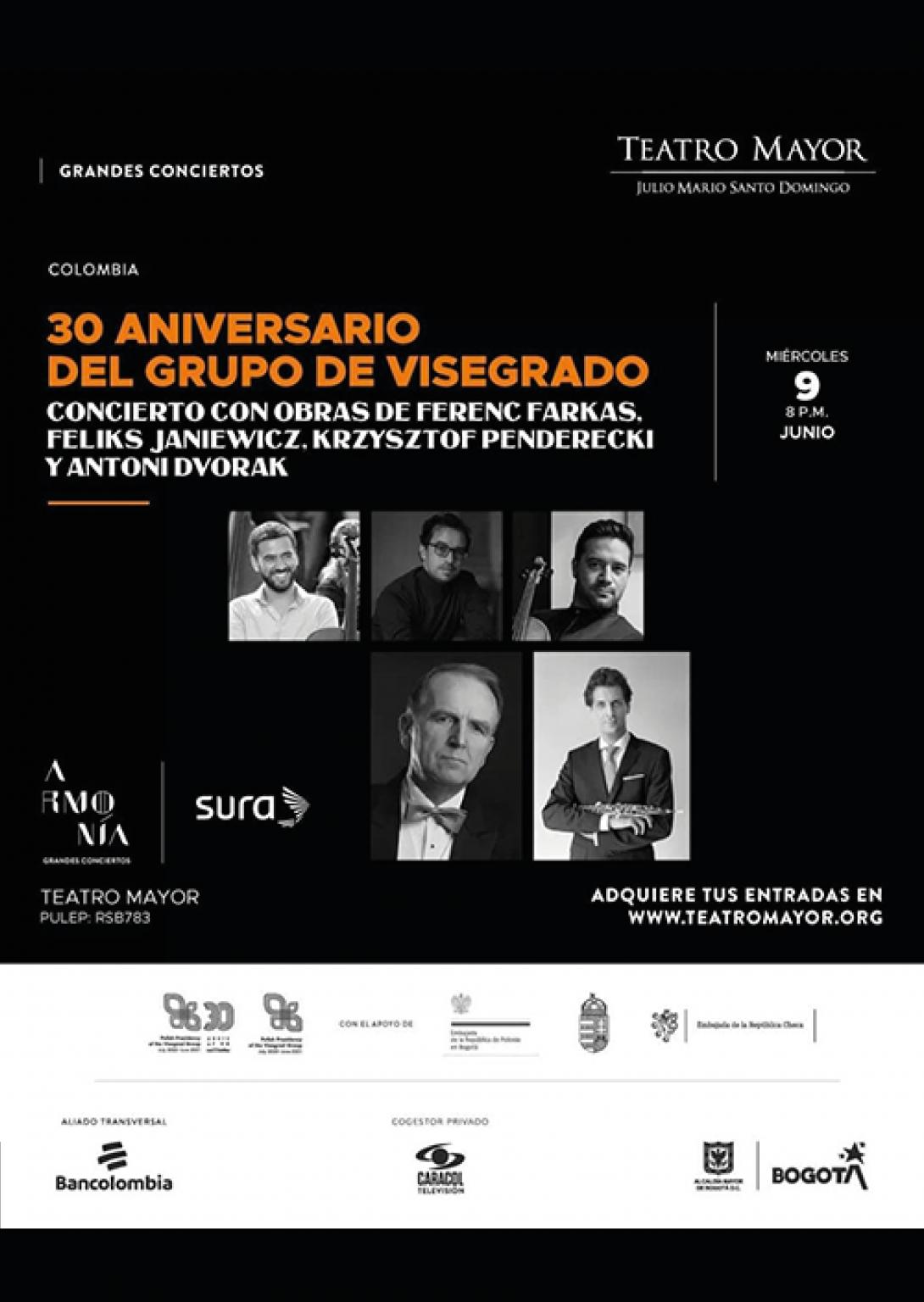 inicio 30 aniversario de Visegrado.