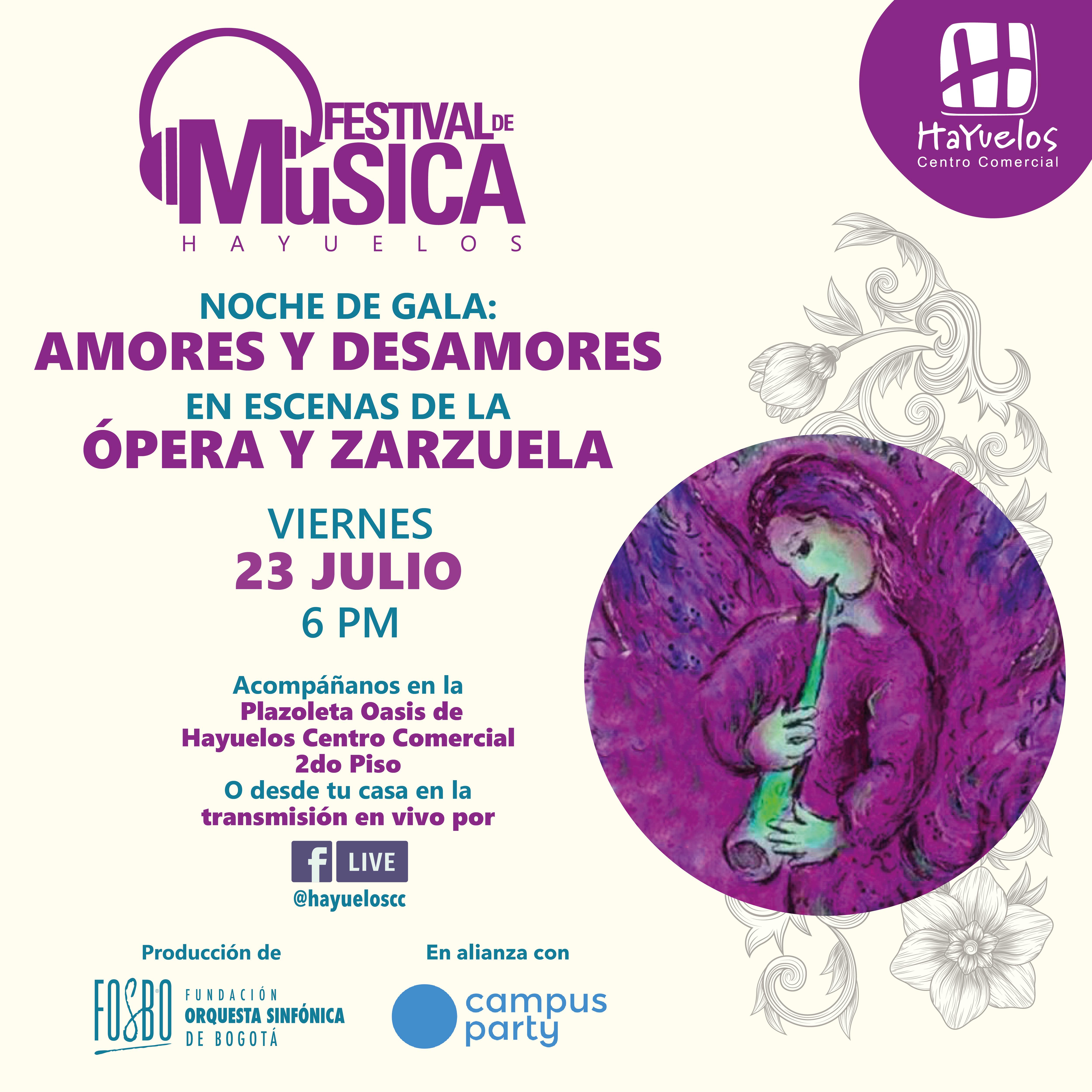 ópera y Zarzuela Hayuelos Fosbo