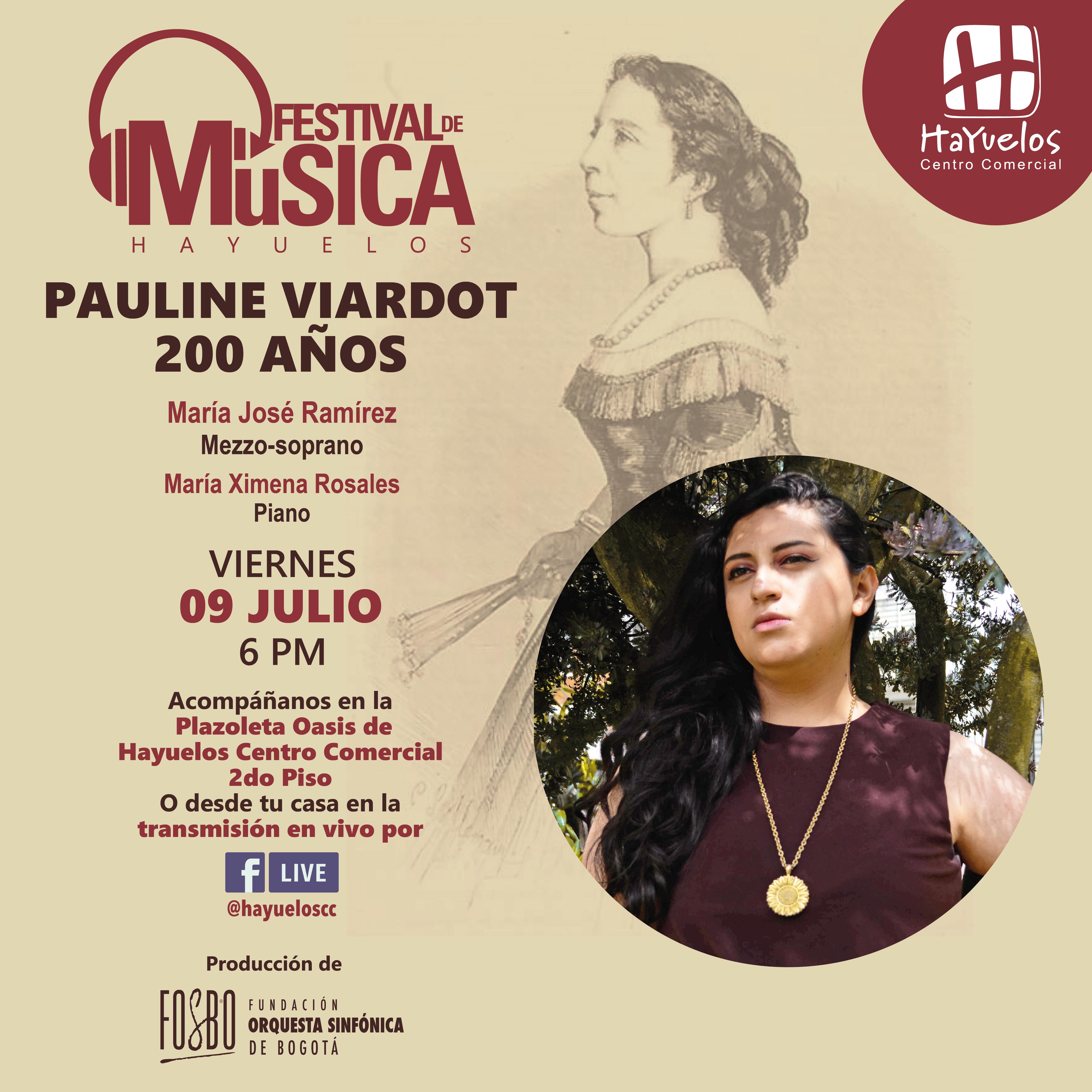 Pauline Viardot Festival de Música Hayuelos Fosbo