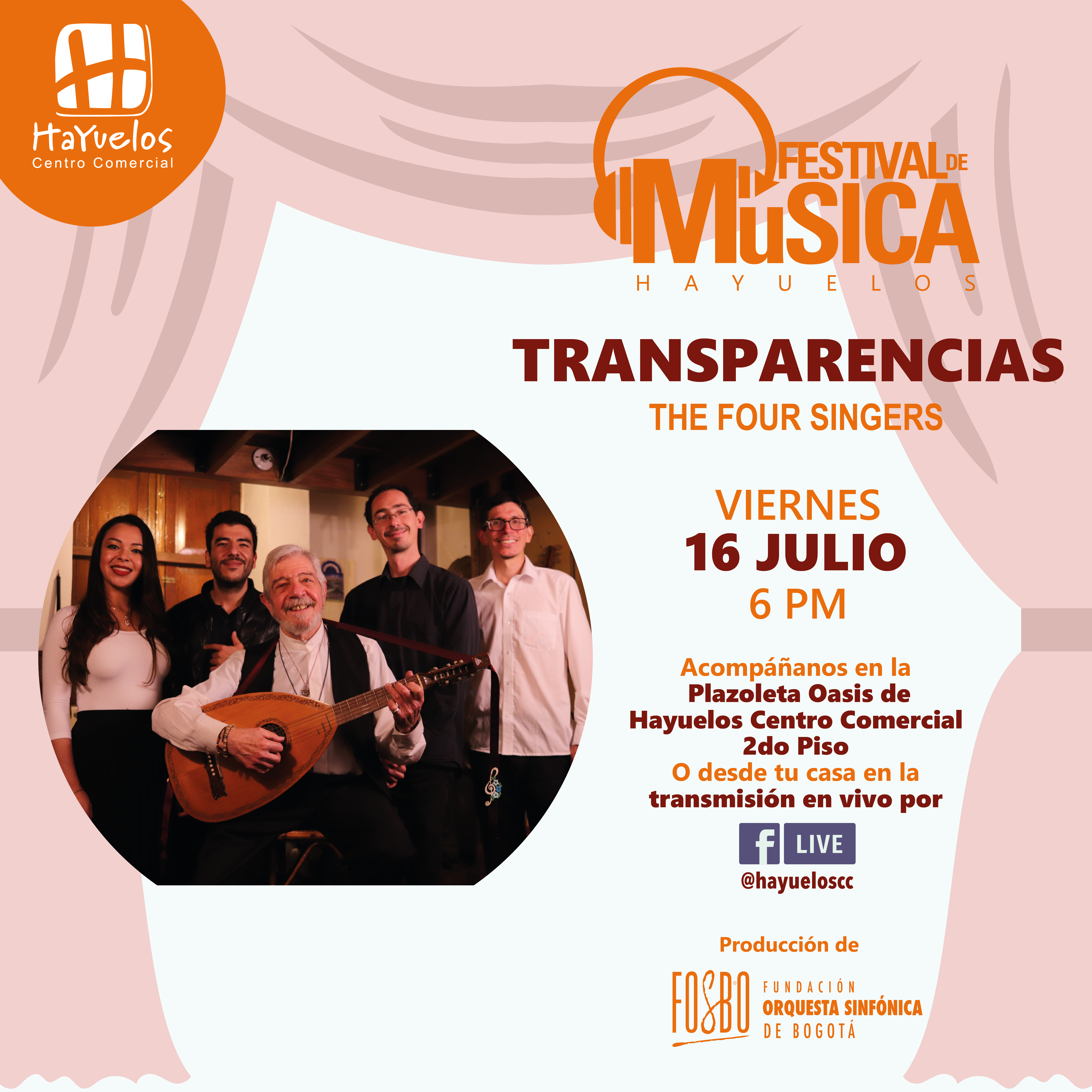 The Four Singers Hayuelos Fosbo