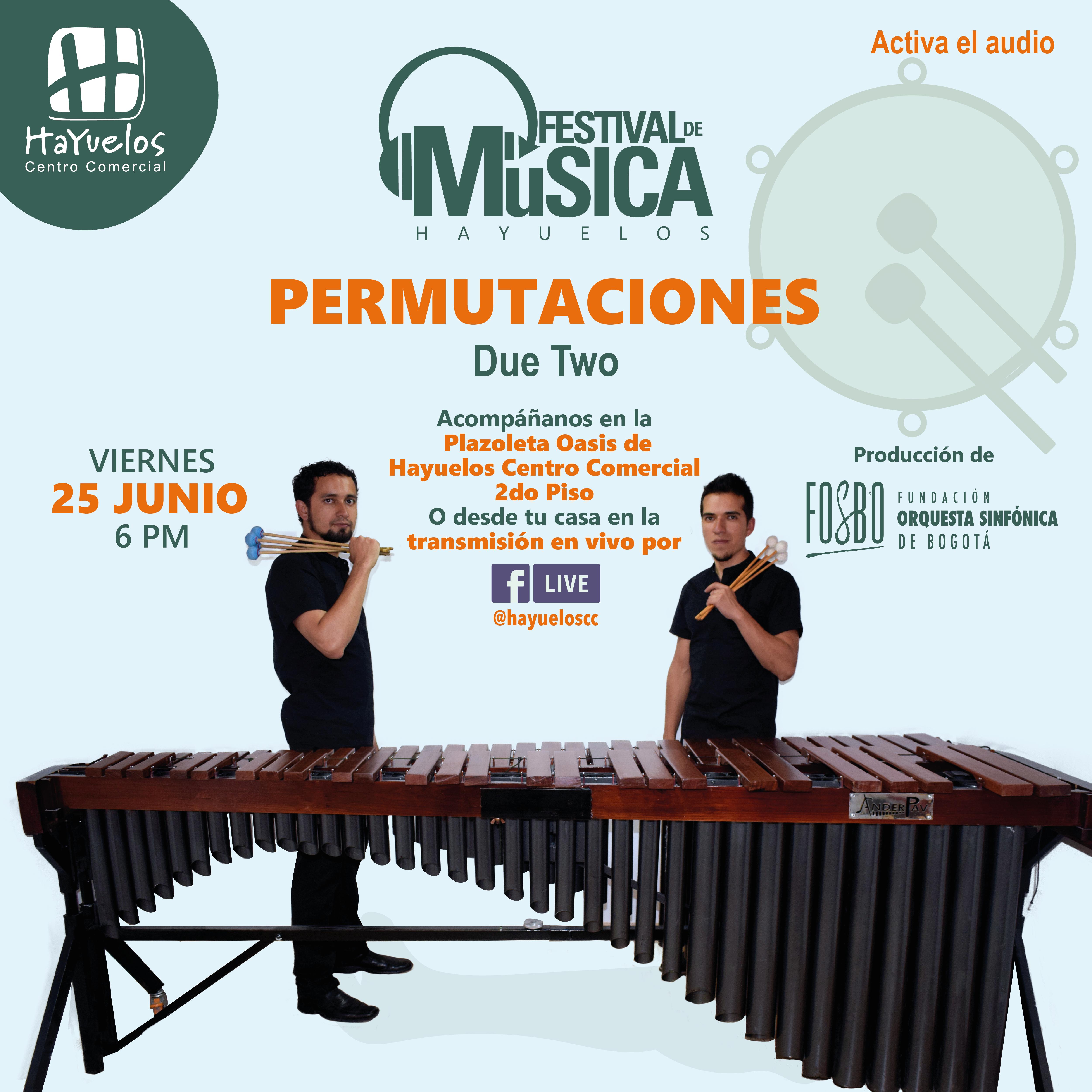 DueTwo Festival de Música Hayuelos Fosbo