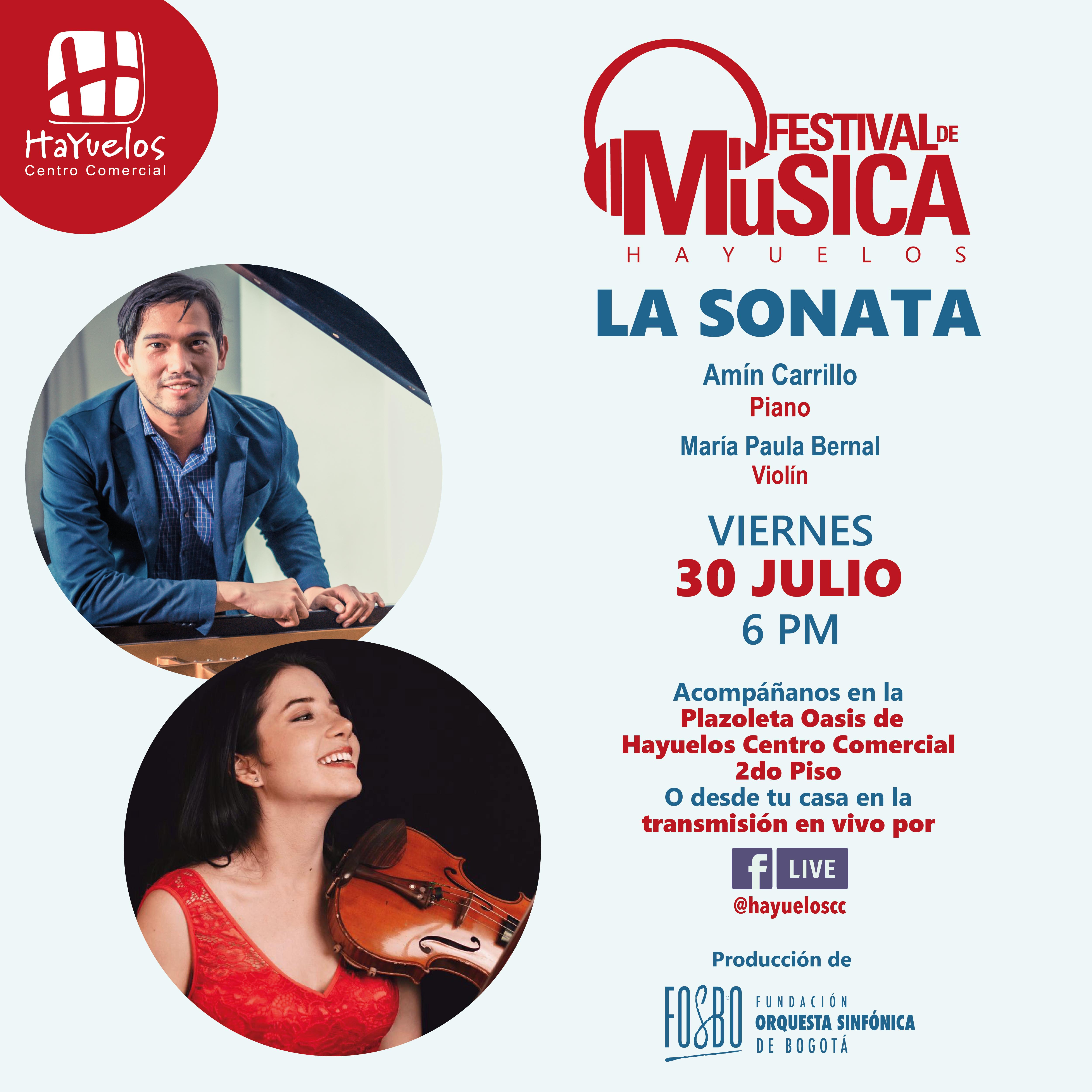 La sonata Festival de música Hayuelos Fosbo