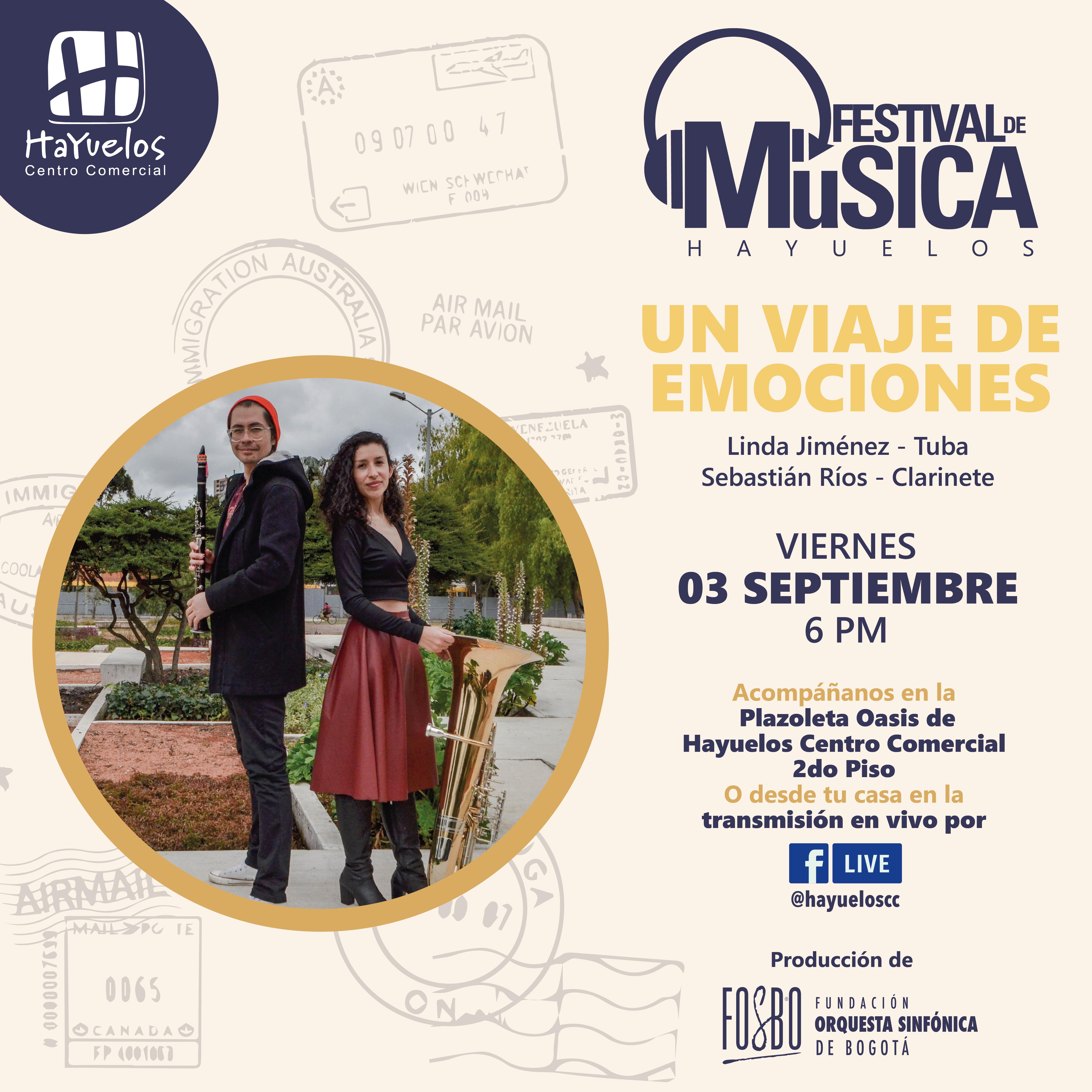 Tuba y clarinete Festival de música Hayuelos Fosbo